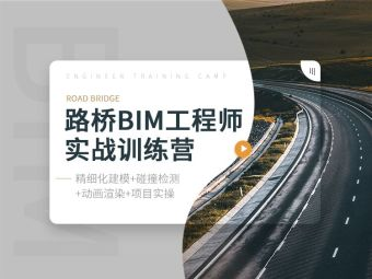 五大软件、真实案例,路桥BIM工程师